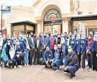 فريق متطوعي الغربية يبدأ أولى الرحلات السياحية لمسار العائلة المقدسة بسمنود