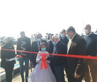 محافظ بورسعيد يفتتح أعمال إحلال وتجديد محطة الياقوت والمرجان| صور