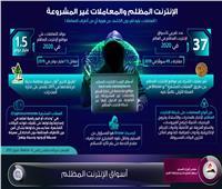 إنفوجراف|أسواق الإنترنت المظلم.. احذر بياناتك في خطر