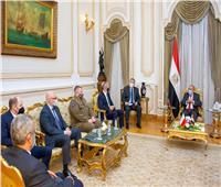 وزير الإنتاج الحربي والسفير البولندي يناقشان تعزيز التعاون المشترك