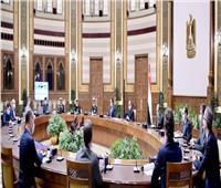 الرئيس يبحث مع رؤساء شركات بلجيكية إنتاج «الهيدروجين الأخضر».. صور