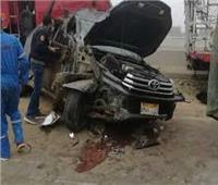 إصابة 5 أشخاص في حادث ببني سويف