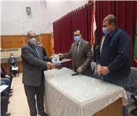 تعليم المنوفية يكرم مديري المدارس المشتركة في مشروع (WISE).