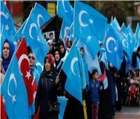 الشرطة التركية تعتدي على متظاهرين من مسلمي الإيغور أمام سفارة بكين.. فيديو