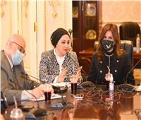نبيلة مكرم: مشروع قانون الهجرة يلبي احتياجات العمالة ويدعم المصريين بالخارج