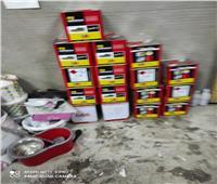 التحفظ على 200 كرتونة أحذية بمصنع بدون ترخيص في الإسكندرية