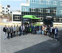 شركة صناعة وسائل النقل «MCV» تطرح أول أوتوبيساتها العاملة بالغاز والكهرباء