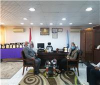 رئيس مدينة سفاجا تطالب المواطنين بالتصالح في مخالفات البناء لتوصيل الغاز