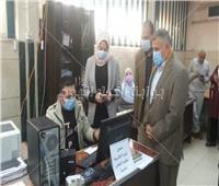نائب محافظ القليوبية تتفقد المشروعات المتعثرة بـ«شبرا الخيمة»