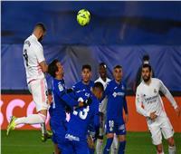 نهاية الشوط الأول.. التعادل يسيطر على ريال مدريد وخيتافي