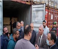 تفاصيل زيارة رئيس مصلحة الجمارك لميناء الإسكندرية