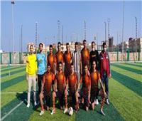 مركز الشيخ زويد بطل دوري «الميني فوتبول» على مستوى شمال سيناء