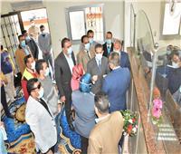 محافظ الغربية يفتتح المركز التكنولوجي بقطور