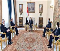 السيسي لوزير خارجية العراق: سياسة مصر «رشيدة» ولها ثوابت أخلاقية