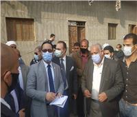 """وفد وزارة التخطيط يتابع قرى """"حياة كريمة"""" بالمنيا"""