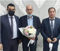 مولودية الجزائر يصل القاهرة لمواجهة الزمالك
