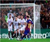 بث مباشر  مباراة برشلونة وإشبيلية بكأس إسبانيا