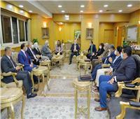 محافظ دمياط تلتقى بأعضاء مجلسي النواب والشيوخ بالمحافظة