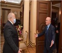«الخشت» يستقبل سفير المملكة المغربية بمصر لبحث سبل تعزيز التعاون