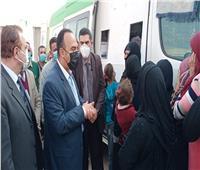 محافظ المنيا يوجه بتكثيف الجولات الميدانية لرصد احتياجات المواطنين