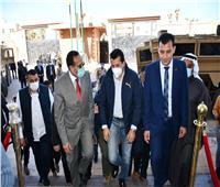 وزير الرياضة يصل شمال سيناء لافتتاح مهرجان بمدينة العريش