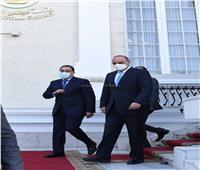 رئيسا وزراء مصر والأردن يتفقدان أعمال التطوير بميدان التحرير