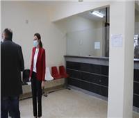 نائبة محافظ الجيزة تتفقد المراكز التكنولوجية بأحياء الطالبية والعجوزة