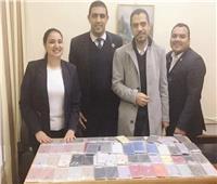 «راكبة» تخفي 67 هاتفًاأسفل «جاكيت» بمطار القاهرة