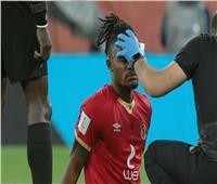 إصابة «لاعب الأهلي» بنزيف.. ودخول «أجايي» أمام بالميراس