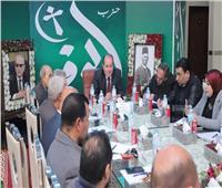 لجنة الوفد بالبحيرة تؤيد قرارات تطهير بيت الأمة