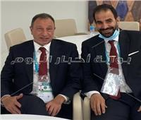المنيسي يشارك الأحمر احتفالات البرونزية العالمية.. صور
