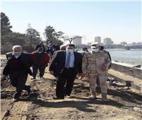 نائب محافظ القاهرة يتفقد أعمال تطوير ممشى أهل مصر