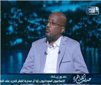 روائي سوداني : التيار الإسلامي كان مشروعه السطة لـ 30 عامًا
