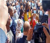 وزيرا الهجرة والبيئة تصلان قرية صفط تراب