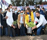 وزيرتا الهجرة والبيئة يشهدان إطلاق حملة «اتحضر للأخضر» بالمحلة الكبرى| صور