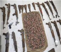 ضبط ترسانة أسلحة وذخائر وتنفيذ نصف مليون حكم قضائي