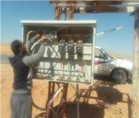 إطلاق عمليات صيانة سريعة لمحولات وخطوط الكهرباء بشمال سيناء