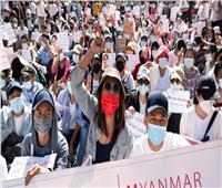 جيش ميانمار يعتقل 7 مؤيدين للاحتجاجات