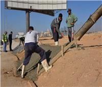 تعرف على أسوار التأمين الجديدة بمطار القاهرة الدولي