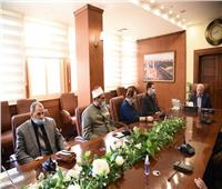 الغضبان يلتقي مجلس أمناء مسابقة بورسعيد الدولية في حفظ القرآن الكريم