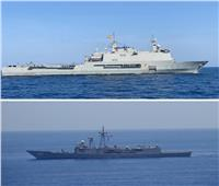 القوات البحرية المصرية والأسبانية تنفذان تدريبًا بحريًا عابرًا في نطاق الأسطول الجنوبي بالبحر الأحمر