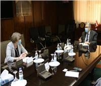 لقاء وزير الكهرباءوسفيرة فنلندا بالقاهرة لبحث سبل دعم وتعزيز التعاون