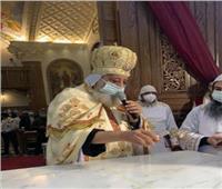 البابا تواضروس يتحدث عن تاريخ كنيسة العذراء والأنبا موسى بالمنشية