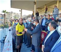 محافظ البحيرة يشهد اللقاء النهائي لدوري مراكز الشباب