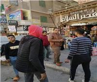 حملة مكبرة لرفع الإشغالات في دار السلامبالقاهرة.. صور