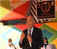 محافظ قنا يشهد حفل ختام أعمال تطوير كوبرى المعنا| صور