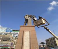 السياحة والآثار: إطلاق حملة لتنظيف وصيانة التماثيل الموجودة بالميادين | صور