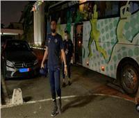 عودة لاعبي بيراميدز لفندق الإقامة استعدادا للسفر إلى القاهرة