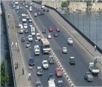الحالة المرورية بالطرق والميادين الرئيسية بالقاهرة
