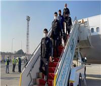 بعثة بيراميدز تصل إلى القاهرة